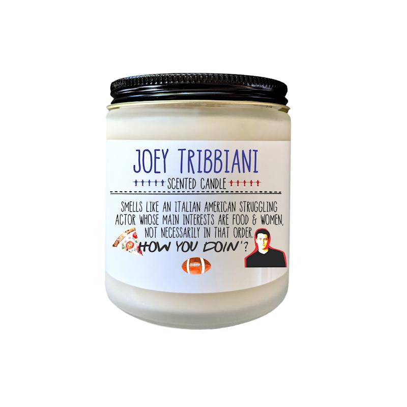 Joey Tribbiani Friends TV Show Gift How You Doin Candle Gift Fandom Candle