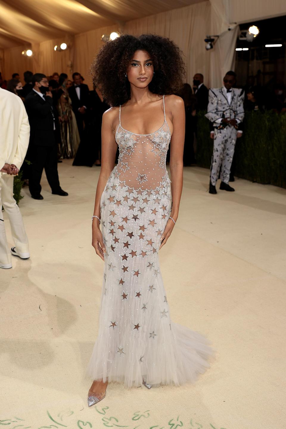 """<h1 class=""""title"""">Imaan Hammam, The 2021 Met Gala Celebrating In America: A Lexicon Of Fashion - Arrivals</h1><cite class=""""credit"""">Getty</cite>"""