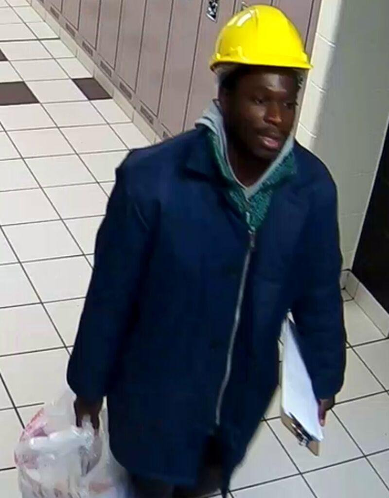 """Police in Toronto released a photo of a man they believe dumped buckets of """"liquefied fecal matter"""" on people in Toronto."""