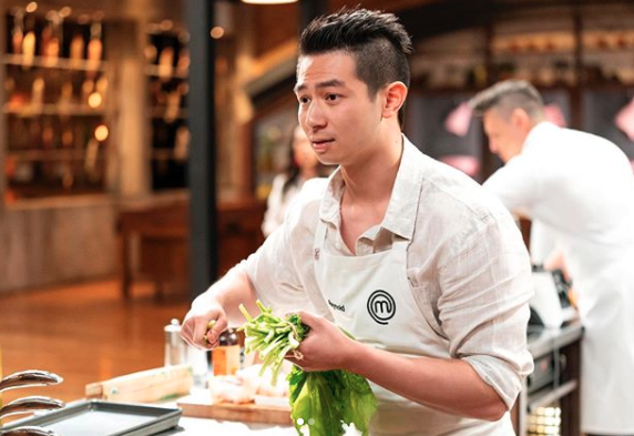 Courtney says Reynold is 'clearly' the best chef in the competition. Photo: Ten