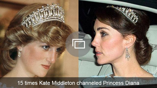 Kate Middleton Princess Diana slideshow
