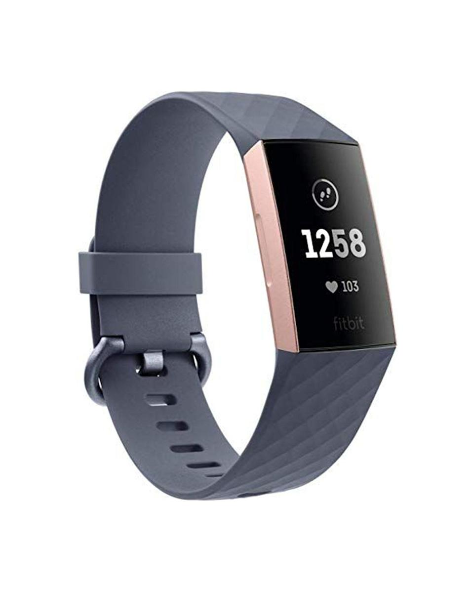 """<p><strong>Fitbit</strong></p><p>amazon.com</p><p><strong>$124.00</strong></p><p><a href=""""https://www.amazon.com/dp/B07G18N2YY?tag=syn-yahoo-20&ascsubtag=%5Bartid%7C10049.g.32868849%5Bsrc%7Cyahoo-us"""" rel=""""nofollow noopener"""" target=""""_blank"""" data-ylk=""""slk:Shop Now"""" class=""""link rapid-noclick-resp"""">Shop Now</a></p><p>It's not just a watch. This magical device will help your fave instructor stay on top of all of their fitness goals. Btw, they can go for a swim while wearing this bad boy too.</p>"""