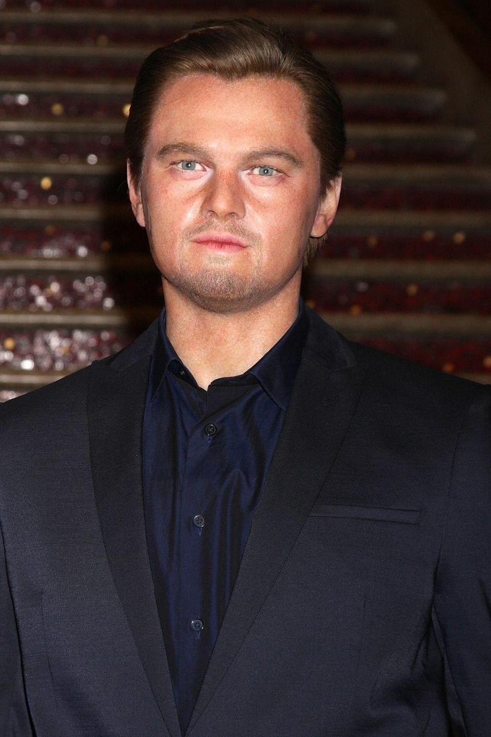 <p>According to Madame Tussauds Hollywood this is Leonardo DiCaprio. If you squint really hard you can maybe see where they are coming from. Copyright: [Wenn] </p>