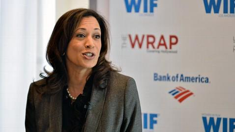 gty kamala harris ll 130404 wblog Obama Calls Californian Kamala Harris Best Looking Attorney General