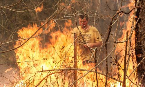 NSW and Queensland bushfires: no letup for exhausted communities as fires flare 'all around us'