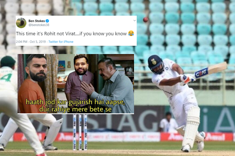 Ben Stokes' Reaction to Rohit Sharma's Outburst at Pujara Sums up Every Desi's Feelings