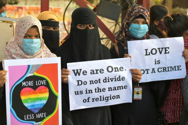 The 'love jihad' law has sent a chill through India's 200-million-strong Muslim minority and defenders of the country's secular traditions, who have raised alarm about the BJP's policies since it returned to power in 2014