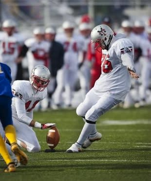 Manti kicker Carlo Garcia connects on a state record, state title-winning 54-yard field goal — Deseret News