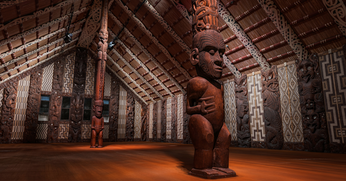 The <strong>Waitangi Treaty Grounds</strong> was the site of the meeting between Māori and European representatives in 1840 that resulted in New Zealand's founding document.