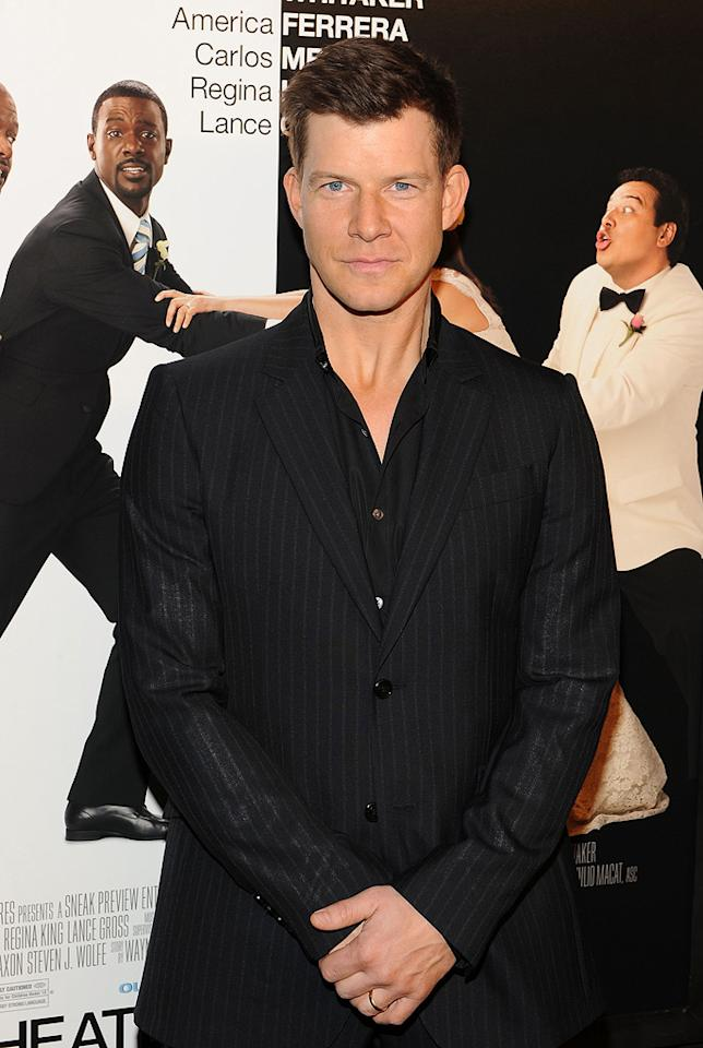 """<a href=""""http://movies.yahoo.com/movie/contributor/1800024780"""">Eric Mabius</a> at the New York City premiere of <a href=""""http://movies.yahoo.com/movie/1810093971/info"""">Our Family Wedding</a> - 03/09/2010"""
