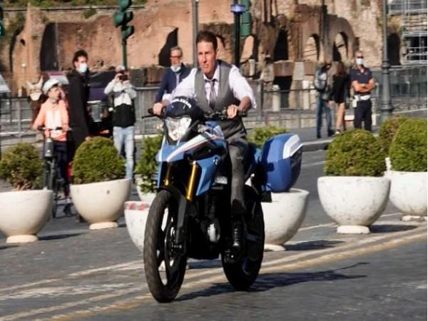 Tom Cruise filming 'Mission: Impossible 7'