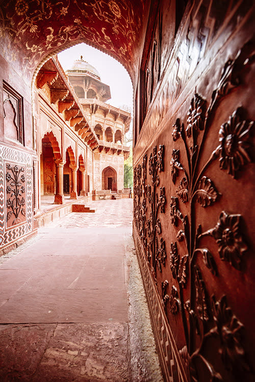 <p>You've probably seen many a picture of a tourist standing outside India's Taj Mahal. But have you ever seen them standing inside? Probably not, since photography inside the UNESCO World Heritage Site is forbidden.</p>