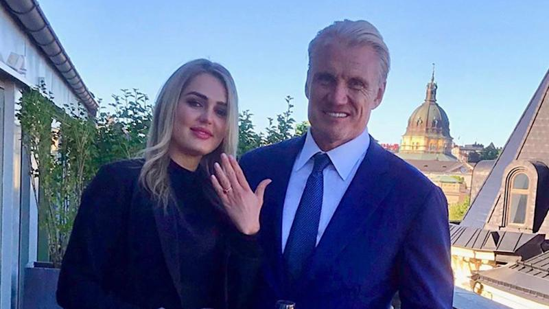 Dolph Lundgren engaged to personal trainer Emma Krokdal