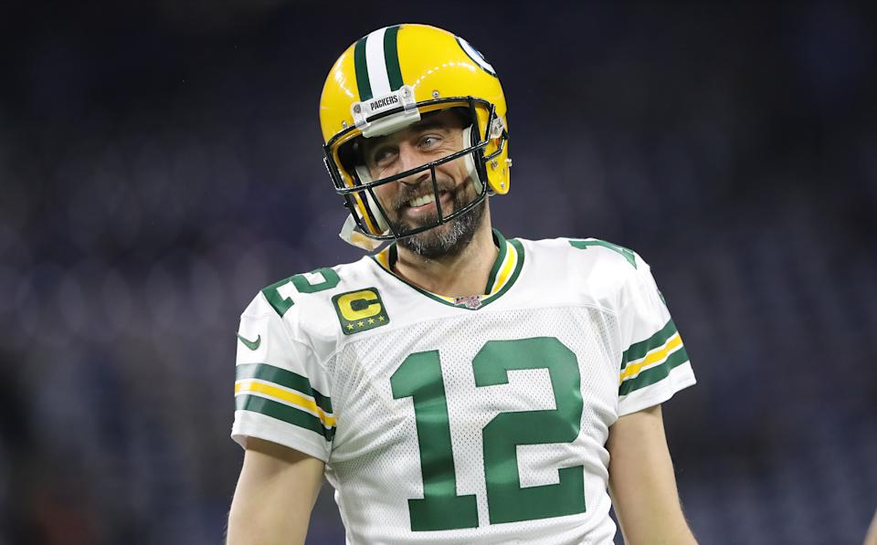 Which Aaron Rodgers is going to show up for the Green Bay Packers in the playoffs? (Photo by Rey Del Rio/Getty Images)