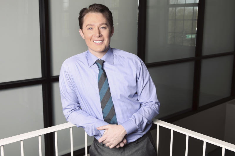 "This undated image released by Clay Aiken for Congress, shows former ""American Idol"" runner up Clay Aiken, a candidate in the Democratic Party primary in North Carolina's 2nd Congressional District. (AP Photo/Clay Aiken for Congress)"