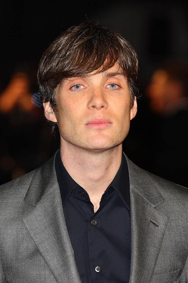 """<a href=""""http://movies.yahoo.com/movie/contributor/1804764190"""">Cillian Murphy</a> at the London premiere of <a href=""""http://movies.yahoo.com/movie/1810218430/info"""">In Time</a> on October 31, 2011."""