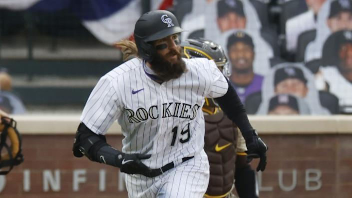 "Despite his hot start at the plate this season, Charlie Blackmon isn't necessarily aiming to be a .400 hitter for the Colorado Rockies. <span class=""copyright"">(David Zalubowski / Associated Press)</span>"