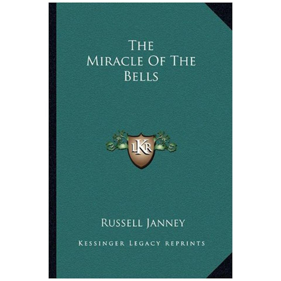 """<p>$31.45 <a class=""""link rapid-noclick-resp"""" href=""""https://www.amazon.com/Miracle-Bells-Russell-Janney/dp/1163817813/ref=tmm_pap_swatch_0?_encoding=UTF8&tag=syn-yahoo-20&ascsubtag=%5Bartid%7C10050.g.35033274%5Bsrc%7Cyahoo-us"""" rel=""""nofollow noopener"""" target=""""_blank"""" data-ylk=""""slk:BUY NOW"""">BUY NOW </a><strong><br>Genre:</strong> Fiction</p><p>Russell Janney's first, and most popular novel, was turned into a motion picture starring Fred MacMurray (from <em>My Three Sons</em>) and Frank Sinatra. </p><p> This fiction novel tells the story of a press agent, Bill Dunnigan, who brings the body of deceased actress Olga Treskovna to a coal mining town for burying. Much of the story is told in flashback to the relationship between Olga and Bill. </p>"""