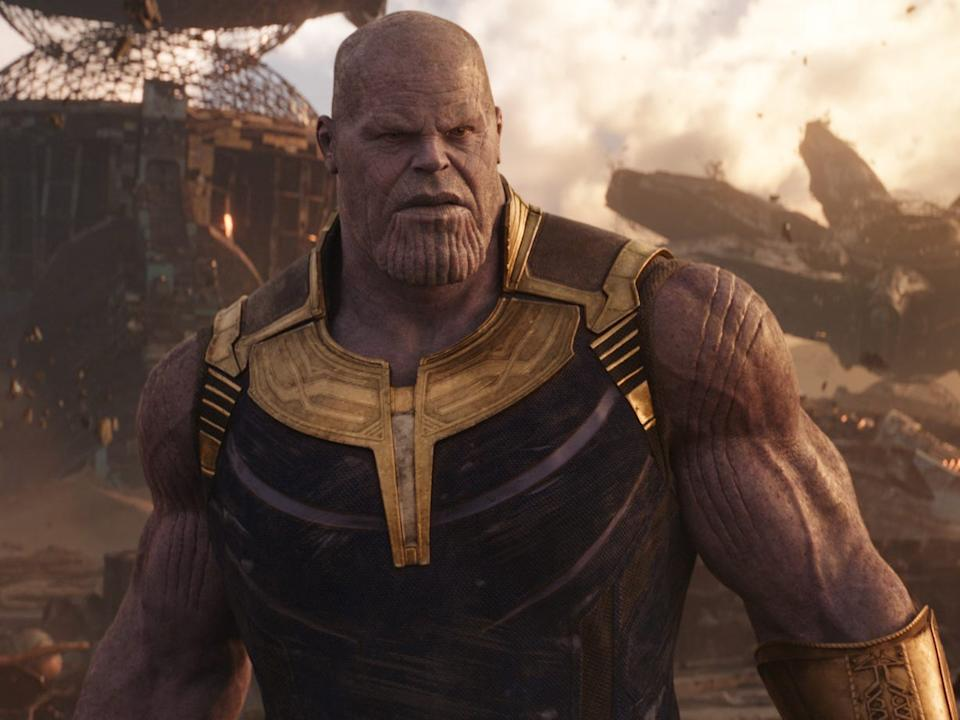 """Thanos snaps away half of the population in """"Infinity War."""""""