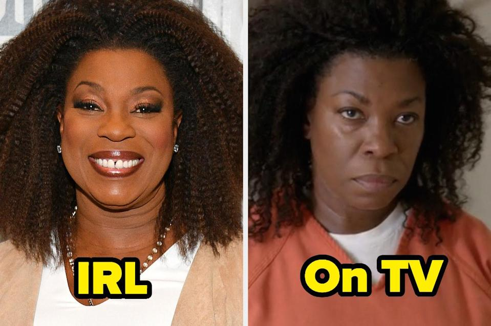"""<div><p>""""Lorraine is a phenomenally talented actor, but I really hated her character in <i>Orange Is the New Black</i>. I mean, obviously, Vee was meant to be a villain and a completely antagonistic character, but I also just really didn't like that whole storyline, and I was relieved once it was finally over.""""</p><p>—<a href=""""https://www.buzzfeed.com/stella93"""" rel=""""nofollow noopener"""" target=""""_blank"""" data-ylk=""""slk:stella93"""" class=""""link rapid-noclick-resp"""">stella93</a></p></div><span> Getty Images / Netflix</span>"""