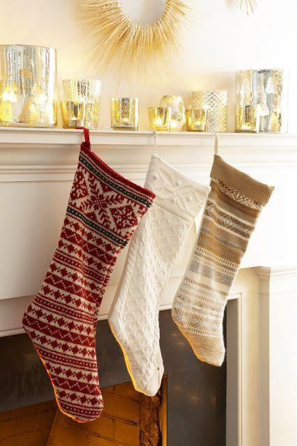 """<p>Grab an old sweater, or purchase one at a thrift store, then make an outline of the shape of a stocking and carefully cut out. Next, sew the sweater pieces together and create a knot to hang. Voila!</p><p><strong>Get the tutorial at <a href=""""http://anextraordinaryday.net/from-sweater-to-christmas-stocking-in-12-easy-steps/"""" rel=""""nofollow noopener"""" target=""""_blank"""" data-ylk=""""slk:An Extraordinary Day"""" class=""""link rapid-noclick-resp"""">An Extraordinary Day</a>.</strong></p><p><strong><a class=""""link rapid-noclick-resp"""" href=""""https://go.redirectingat.com?id=74968X1596630&url=https%3A%2F%2Fwww.etsy.com%2Fmarket%2Fold_sweaters&sref=https%3A%2F%2Fwww.countryliving.com%2Fshopping%2Fg1407%2Fpersonalized-christmas-stockings%2F"""" rel=""""nofollow noopener"""" target=""""_blank"""" data-ylk=""""slk:SHOP SWEATERS"""">SHOP SWEATERS</a><br></strong></p>"""