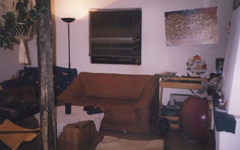 Interior of one of the houses