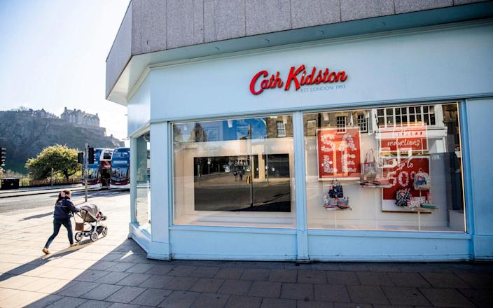 Cath Kidston closed all 600 of its stores as a result of the pandemic - Jane Barlow/PA