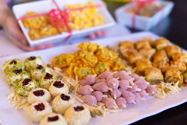 Calgarian Shamim Alavi made these sweet treats, which are a classic part of Nowruz, to gift to friends and family who are celebrating the occasion.  (Mehran Imamverdi - image credit)