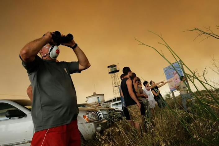 France, Italy, Spain and some central European nations all posted all-time temperatures peaks last week, with dozens of deaths attributed to the heatwave (AFP Photo/Pau Barrena)