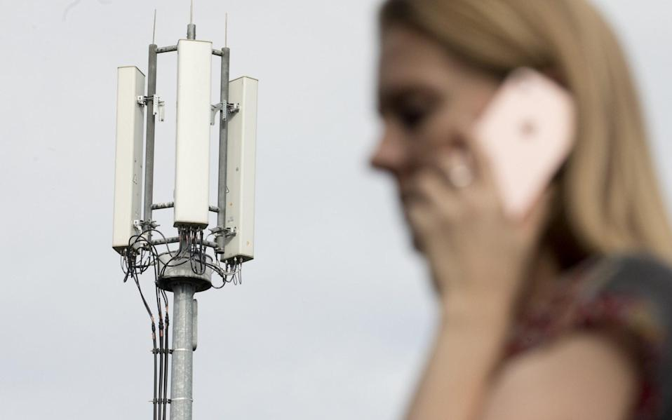 The Government has committed to the UK becoming a 'world leader' in 5G - Bloomberg/Jason Alden