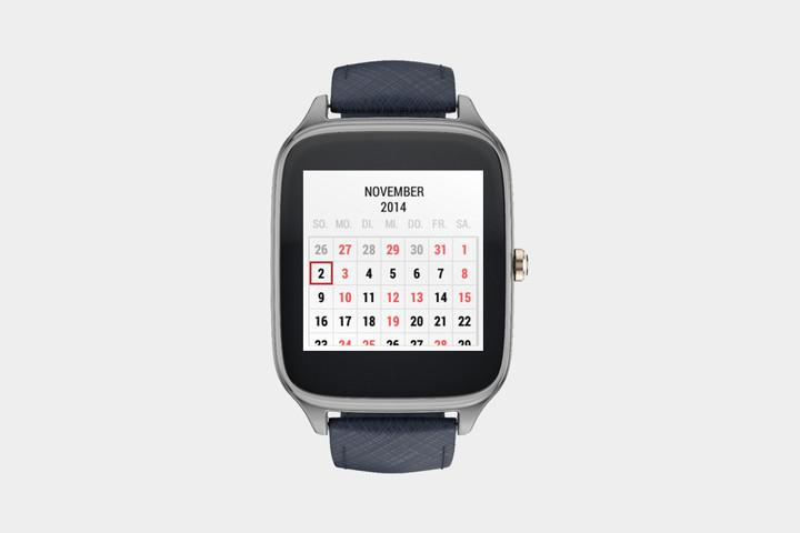 Calendar app for Android Wear