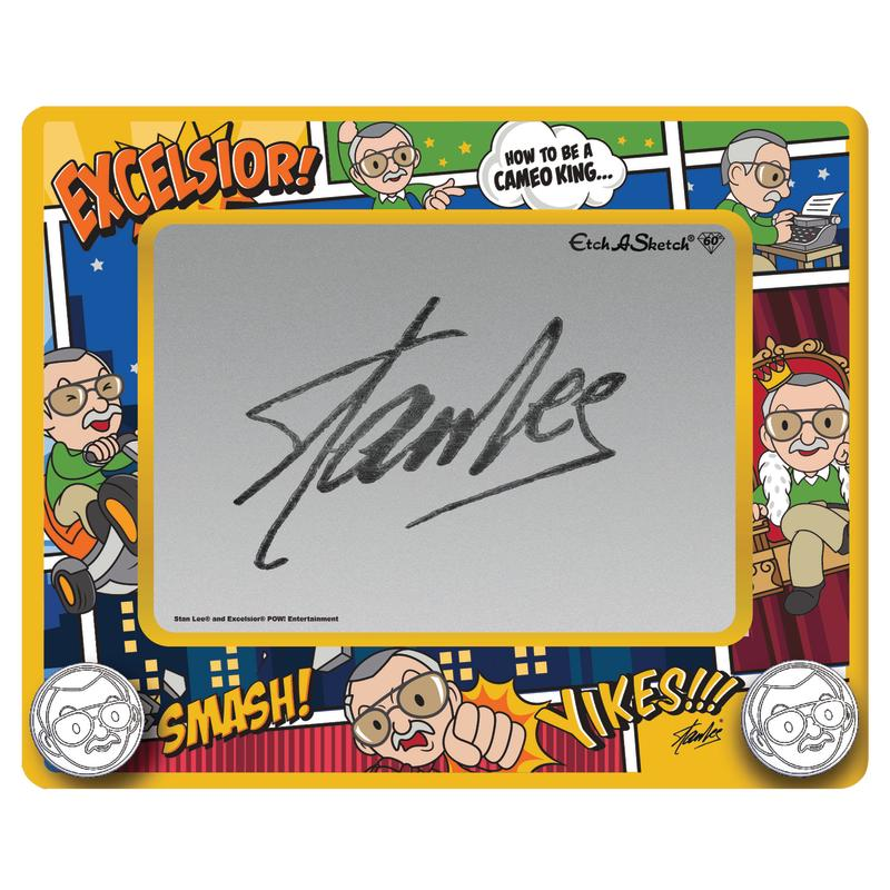 Etch A Sketch Stan Lee Edition (Photo: Spin Master)