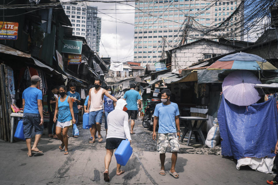 Poverty is the top reason why parents 'pimp' their own children. Photo: Luis Liwanag