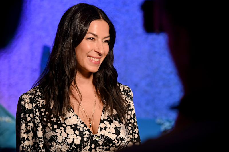 NEW YORK, NEW YORK - FEBRUARY 08: Designer Rebecca Minkoff poses during the Rebecca Minkoff presentation during NYFW: The Shows at Spring Studios on February 08, 2020 in New York City. (Photo by Yuchen Liao/Getty Images for NYFW: The Shows)