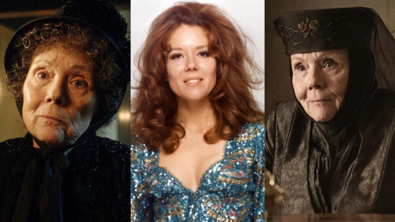 Diana Rigg's glittering career spanned more than 60 years. (Credit: BBC/Sunset Boulevard/Corbis via Getty Images/HBO)