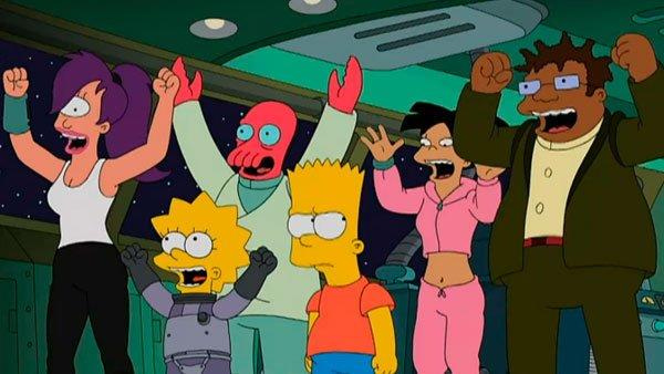 the 10 best futurama moments from the simpsons�futurama