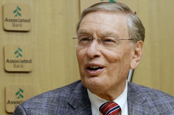 Former commissioner Bud Selig will be elected to the Hall of Fame on his 83rd birthday. (AP)