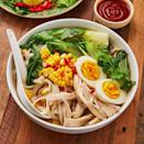 """<p>We love <a href=""""https://www.delish.com/uk/cooking/recipes/a30293330/pho-recipe/"""" rel=""""nofollow noopener"""" target=""""_blank"""" data-ylk=""""slk:pho"""" class=""""link rapid-noclick-resp"""">pho</a>, who doesn't? And this <a href=""""https://www.delish.com/uk/chicken-recipes/"""" rel=""""nofollow noopener"""" target=""""_blank"""" data-ylk=""""slk:chicken"""" class=""""link rapid-noclick-resp"""">chicken</a> alternative is insanely delicious. Featuring the usual ingredients including ginger, star anise and cinnamon, along with a <a href=""""https://www.delish.com/uk/cooking/recipes/a30440664/slow-cooker-rotisserie-chicken-recipe/"""" rel=""""nofollow noopener"""" target=""""_blank"""" data-ylk=""""slk:whole chicken"""" class=""""link rapid-noclick-resp"""">whole chicken</a> (yum!) and chilli, this recipe is SO flavourful. </p><p>Get the <a href=""""https://www.delish.com/uk/cooking/recipes/a30607809/chicken-broth/"""" rel=""""nofollow noopener"""" target=""""_blank"""" data-ylk=""""slk:Chicken Broth with Noodles"""" class=""""link rapid-noclick-resp"""">Chicken Broth with Noodles</a> recipe. </p>"""