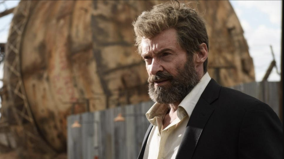 Hugh Jackman as Wolverine in Logan (credit: 20th Century Fox)