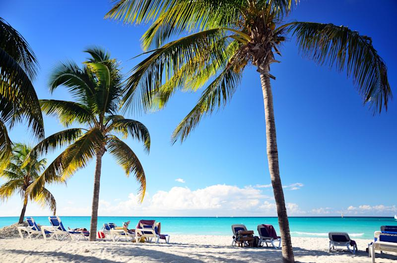 """On <a href=""""https://www.tripadvisor.com/Attraction_Review-g147275-d669563-Reviews-Varadero_Beach-Varadero_Matanzas_Province_Cuba.html"""" target=""""_blank"""">Varadero Beach</a>, you'll begreeted by a remote tropical beach with white sand, coconut trees and deep blue sky.<br /><br />Be aware that there are U.S. travel licensing restrictions for travel to Cuba."""