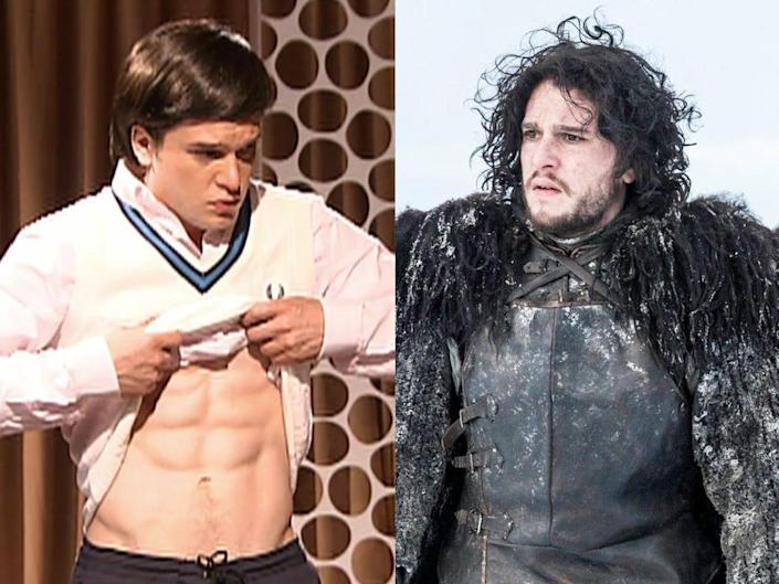 Kit Harington Seven Days in Hell and Game of Thrones HBO
