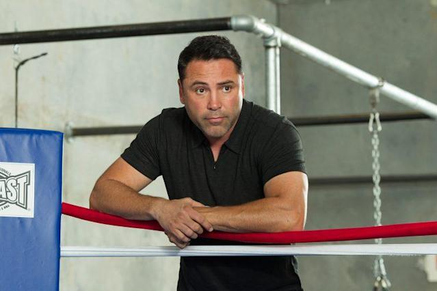 It's on promoters like Oscar De La Hoya to make sure boxing fans get the fights they want. (Getty)