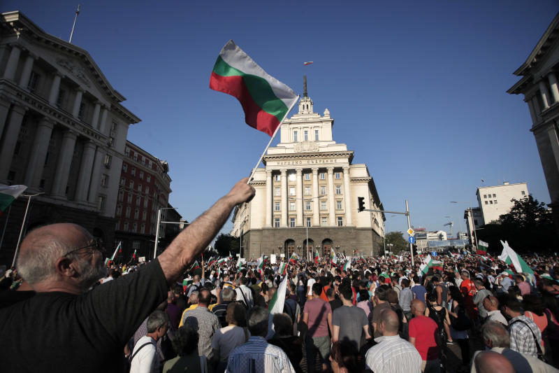 Bulgaria parliament revokes security chief choice