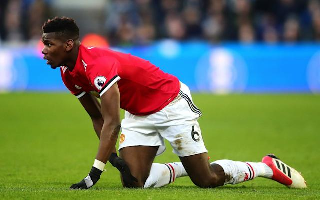 Paul Pogba struggled as United lost to Newcastle on Sunday - Getty Images Europe