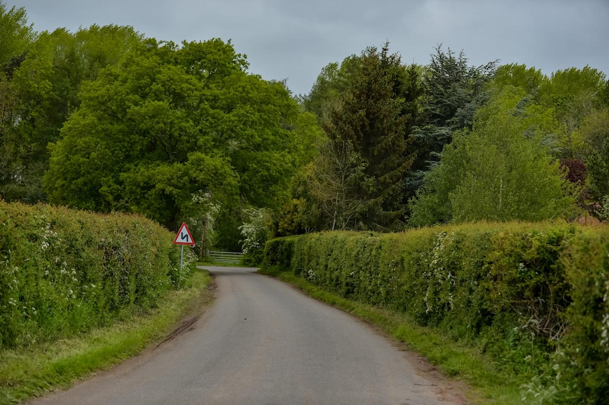 GV of Haye Lane, Ombersley, Droitwich, Worcestershire, May 23 2021 . See SWNS story SWMDmissing. Amanda's worried mum Carol Hull posted a series of heartbreaking appeals as locals organised search parties to help find the missing horse rider. Directly appealing to her daughter, she wrote on Facebook: