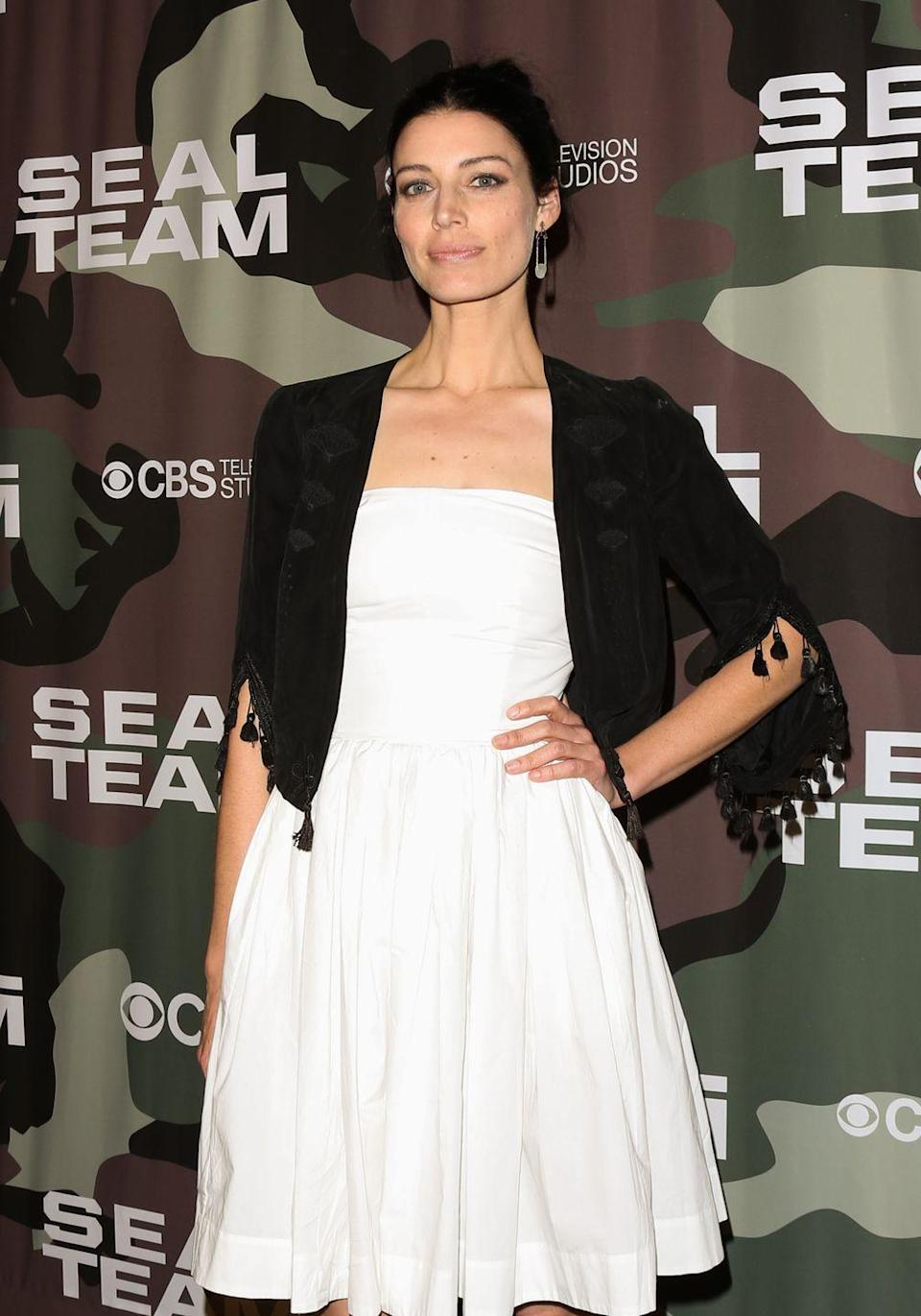 <p>Currently, Paré can be seen as CIA analyst Mandy Ellis, on the CBS drama <em>SEAL Team. </em></p>