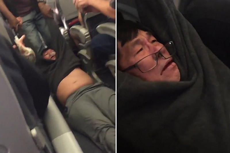 Footage of a man being dragged off a United Airlines flight sparked outrage on social media (Jayse D Anspach)