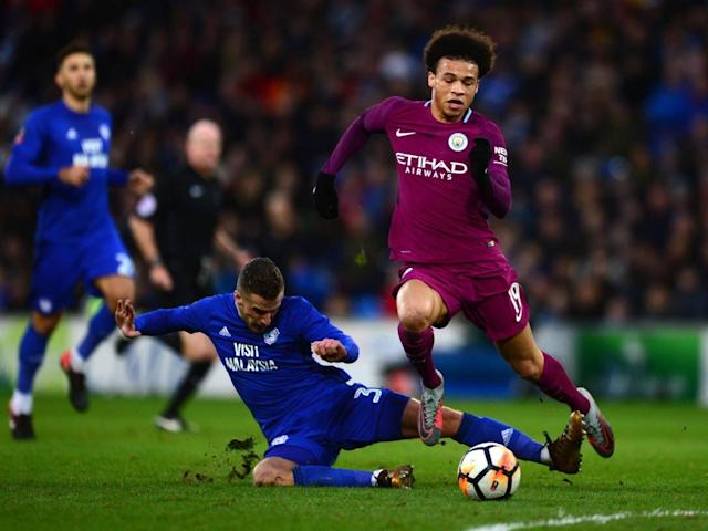 Pep Guardiola calls for more protection for Manchester City stars from referees after Leroy Sane's injury against Cardiff