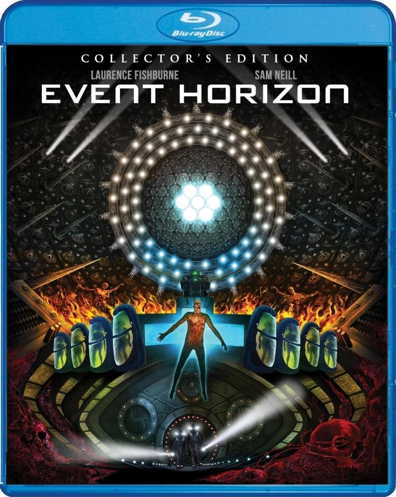 The cover of the Scream Factory Blu-ray of Event Horizon.