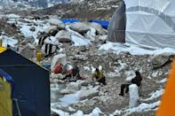 The warmer weather that ushers in safer conditions for scaling Nepal's dangerous, snow-capped peaks has coincided with a deadly second wave of Covid-19 infections, with active cases in the country rising six-fold in the last two weeks